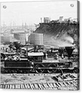 Union Locomotive, C1864 Acrylic Print