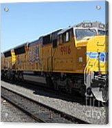 Union Pacific Locomotive Trains . 5d18820 Acrylic Print