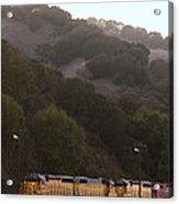 Union Pacific Locomotive Trains . 7d10553 Acrylic Print