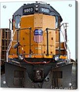 Union Pacific Locomotive Trains . 7d10589 Acrylic Print