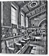 Union Station L.a. Seats 1 Acrylic Print