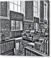Union Station L.a. Seats 2 Acrylic Print