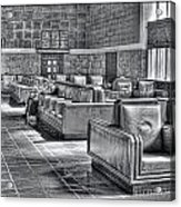 Union Station L.a. Waiting Acrylic Print