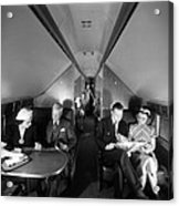 United Airlines Mainliner Sleeper Acrylic Print