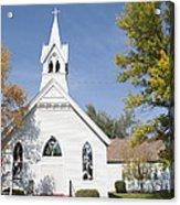United Methodist Church Townsend Mt Acrylic Print