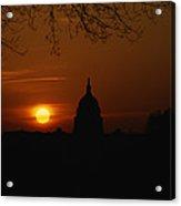 United States Capitol At Sunrise Acrylic Print