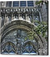 University Of Chicago Chapel Acrylic Print