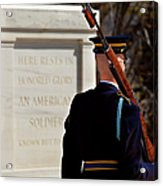 Unknown Soldier Acrylic Print