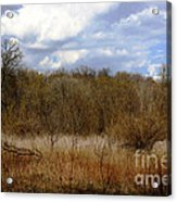 Unspoiled Prairie Landscape Acrylic Print