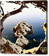 Untouched Coast Acrylic Print