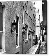 Up An Alley Acrylic Print