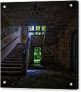 Up Into The Light Acrylic Print by Nathan Wright