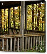 Up North Porch Acrylic Print