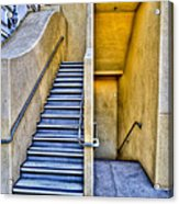 Up Stairs Down Stairs Acrylic Print