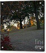 Uphill Sunrise Acrylic Print
