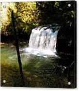 Upper Butte Creek Falls 2 Acrylic Print