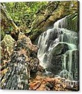 Upper Cascade Hidden Falls Acrylic Print