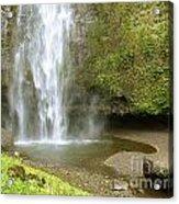 Upper Cascade Pool Multnomah Falls Or Acrylic Print