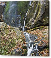 Upper Dark Hollow Falls In Shenandoah National Park Acrylic Print by Pierre Leclerc Photography
