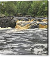 Upper Gabbro Falls Acrylic Print
