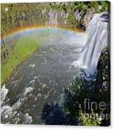 Upper Mesa Rainbow Acrylic Print