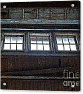 Upper Windows Acrylic Print