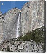Upper Yosemite Fall Acrylic Print