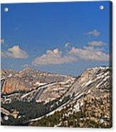 Upper Yosemite Panorama Acrylic Print