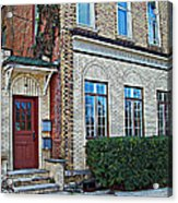 Upstairs - Downstairs Acrylic Print by MJ Olsen