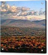 Upstate Ny Panorama Acrylic Print