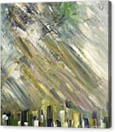 Urban City Acrylic Print
