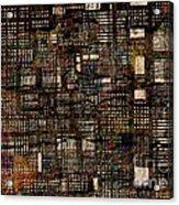 Urbanizacion   Acrylic Print