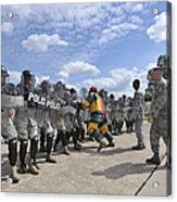 U.s. Air Force 86th Security Forces Acrylic Print by Stocktrek Images