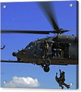 U.s. Air Force Pararescuemen Acrylic Print