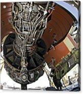 U.s. Air Force Technician Hydraulically Acrylic Print