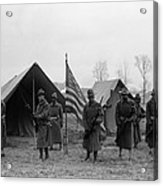 U.s. Army, African American Soldiers Acrylic Print