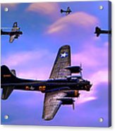 Us Army Air Corps B17g Flying Fortress Acrylic Print