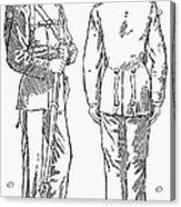 U.s. Army: Fatigues, 1882 Acrylic Print by Granger