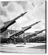 U.s. Army Missiles, C1965 Acrylic Print