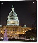 U.s. Capitol Christmas Tree 2009 Acrylic Print