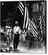 Us Civil Rights. Demonstrators Acrylic Print by Everett