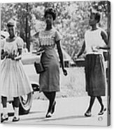 Us Civil Rights. From Left Integrated Acrylic Print