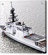 U.s. Coast Guard Cutter Stratton Acrylic Print