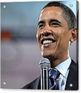 U.s. Democratic Presidential Candidate Acrylic Print