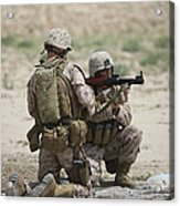 U.s. Marines Prepare A Fragmentation Acrylic Print