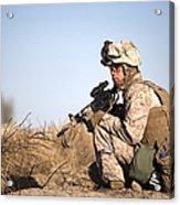 U.s. Navy Soldier Participates Acrylic Print