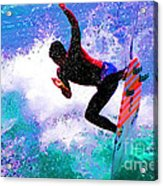 Us Open Of Surfing 2012 Acrylic Print