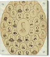 U.s. Senators Who Voted Aye On The 13th Acrylic Print by Everett