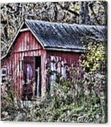Us61 Barn Acrylic Print