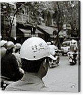 Usa And Hanoi Acrylic Print